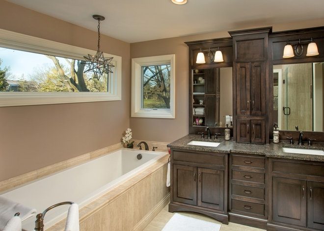 Traditional Bathroom by Finish Line Building