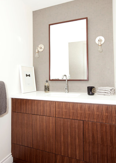 Transitional Bathroom by The Cross Interior Design