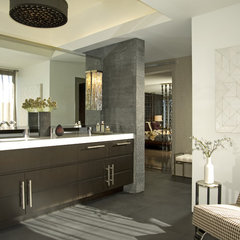 contemporary bathroom by Annette English