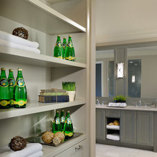 Traditional Closet Organizers by QTK Fine Cabinetry