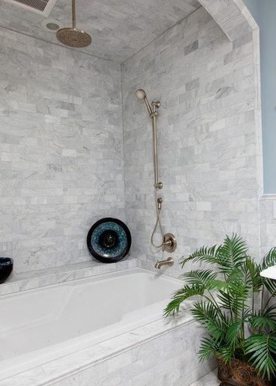 Traditional Bathroom by Robin Straub