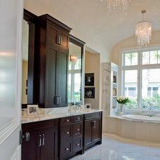 Transitional Bathroom by BCB Homes, Inc.
