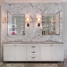 Contemporary Bathroom by Grand Woodworking