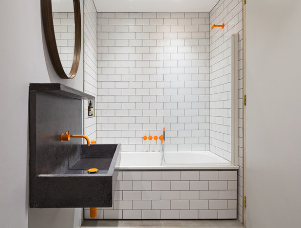 Contemporary Bathroom by Fraher Architects