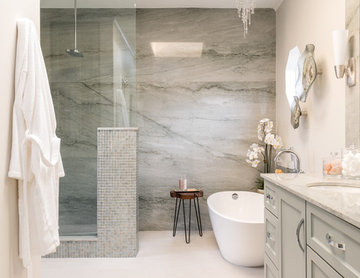 Ethereal Master Bathroom Remodel