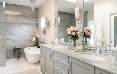 Bathroom of the Week: Luxe Spa-Like Feel for a Master Bath