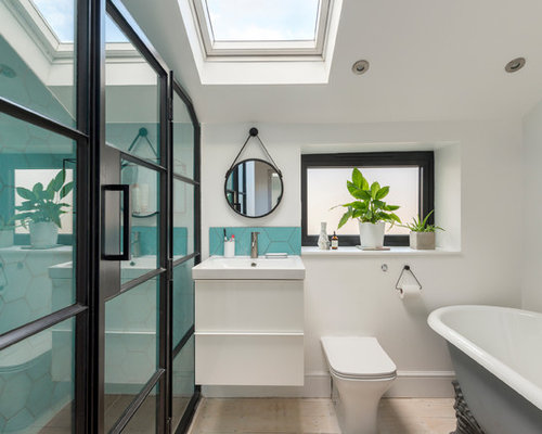 Contemporary and modern bathroom ideas designs pictures Bathroom design company london