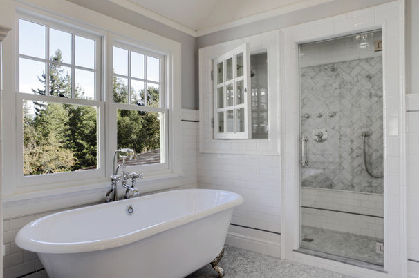 Traditional Bathroom by Gary J Ahern, AIA - Focal Point Design