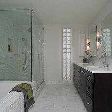 Modern Bathroom by Paul Schulman Design