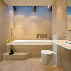 contemporary bathroom by Logue Studio Design Inc.