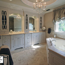 Traditional Bathroom by Project Partners Design