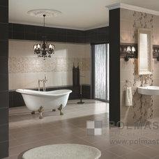 Traditional Bathroom by POLMASTER Tile Centre + 3D Design Studio