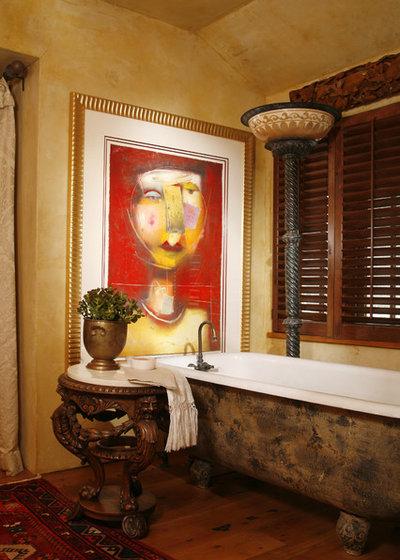 Средиземноморский Ванная комната by Bruce Kading Interior Design
