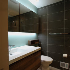 contemporary bathroom by NVS Remodeling & Design
