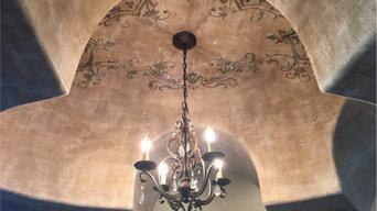 European medallion ceiling.