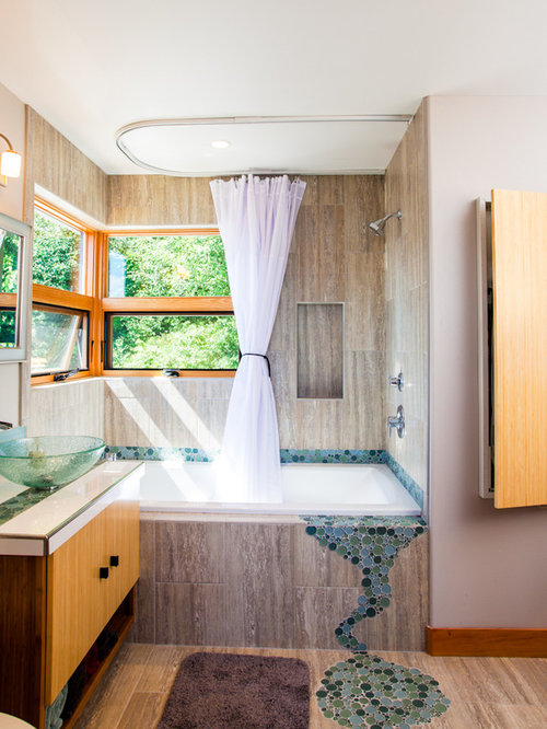 Bathroom Window Curtain Ideas, Pictures, Remodel and Decor