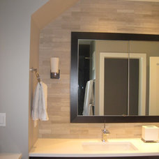 Contemporary Bathroom by Jaclyn Wike - Kitchen and Bath Designer