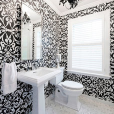 Traditional Bathroom by Natalie Sheedy Interiors, Inc.