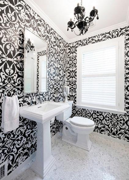 Traditional Bathroom by Natalie Sheedy Interiors, Inc.