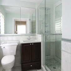 Traditional Bathroom by IDEA + Build, LLC