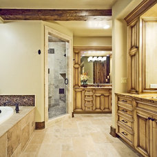 Traditional Bathroom by LANDMARK TRADITIONS
