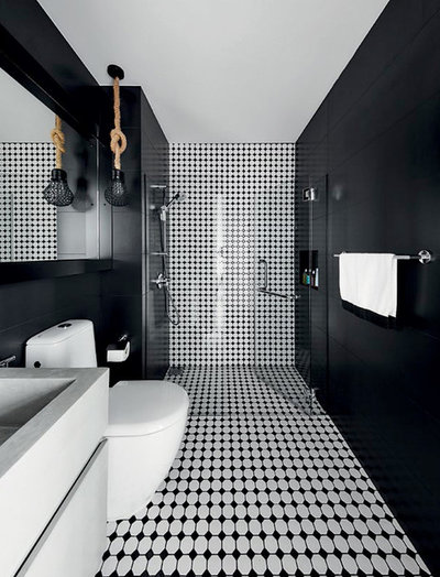 Contemporary Bathroom by Wolf Woof