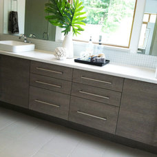 Modern Bathroom by Bellmont Cabinet Co.