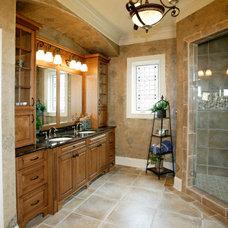 Traditional Bathroom by Evolo Design