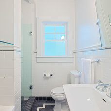 traditional bathroom by Castro Design Studio