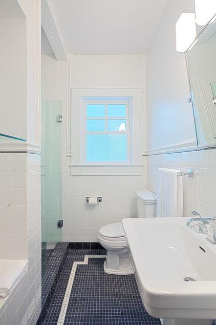 Traditional Bathroom by Castro Design Studio