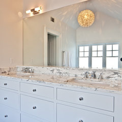 contemporary bathroom by Castro Design Studio