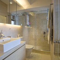 Contemporary Bathroom by Clifton Leung Design Workshop - CLDW.com.hk
