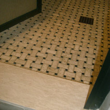 Traditional Bathroom by Exact Tile