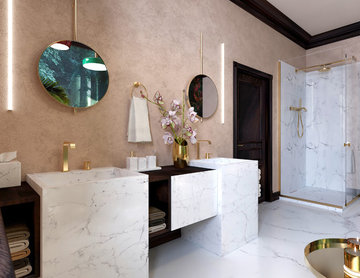 Exotic and Luxurious Bathroom London