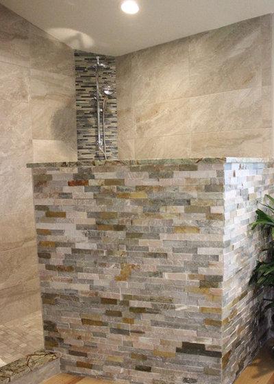 Tropical Bathroom by Adalay Interiors