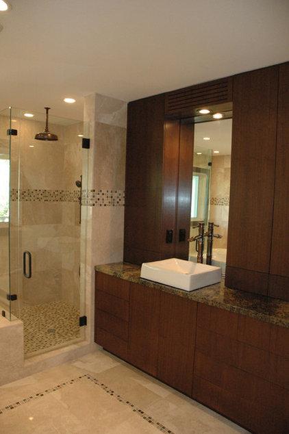 Contemporary Bathroom by DawnElise Interiors
