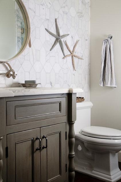 Contemporary Bathroom by Darci Goodman Design