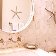 Traditional Bathroom by Darci Goodman Design