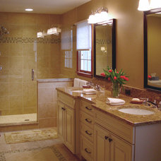 Traditional Bathroom by Cranbury Design Center LLC