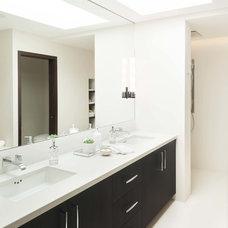 Contemporary Bathroom by Kelly Deck Design