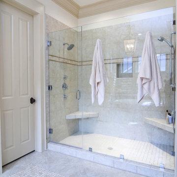 EZ-NICHES Bathroom Shampoo Soap Recess Shelf Wall Niche Caddy