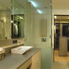 Contemporary Bathroom by Elias Kababie