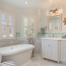 Traditional Bathroom by Kevin Rugee Architect, Inc.