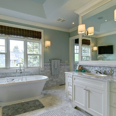 Craftsman Bathroom by Rockwood Custom Homes