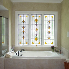 Traditional Bathroom by Decorative Painting by Becky Trapp