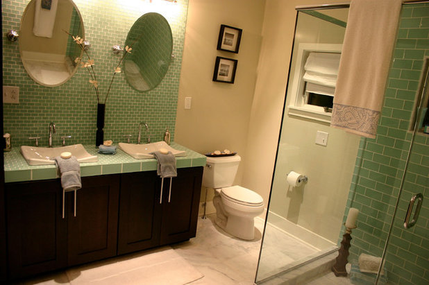 Traditional Bathroom by Busybee Design