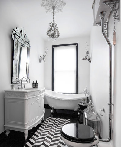 Eclectic Bathroom by Juliet Murphy Photography