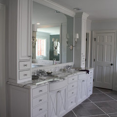 traditional bathroom by Hardwood Creations