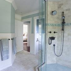 Beach Style Bathroom by Taste Design Inc