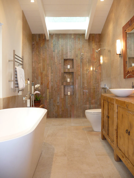 Rustic Bathroom Showers rustic walk-in shower design ideas, remodels & photos